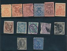 1883 - 1920 Colombia & Colombia-Antiquia VARIOUS ISSUES AS SHOWN, CAT VALUE $40
