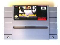 Outlander SUPER NINTENDO SNES GAME Tested WORKING Authentic!