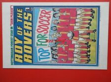 POSTCARD ROY OF THE ROVERS COMIC COVER 25 FEBRUARY 1978