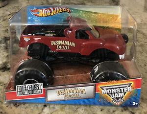 Monster Jam Truck Tasmanian Devil Die Cast Metal Body 1:24