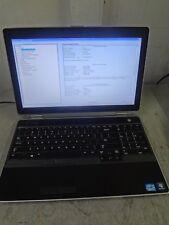"""Dell Latitude E6530  Core i7-3520M  2.9GHz 8GB/160GB LINUX Laptop """"NO BATTERY"""""""