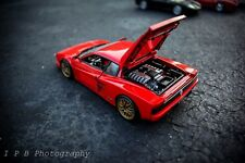 1/18 Detailed Custom 1 Of 1 talian FERRARI TESTAROSSA 1984 - RED And Red !!!