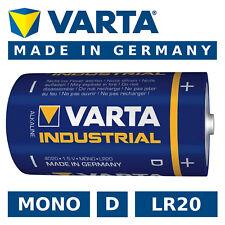 VARTA Batterie D Mono Lr20 R20 Industrial 4020