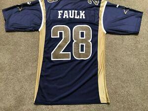 NFL LA St. Louis Rams Replica Marshall Faulk Puma Jersey Medium size Unused