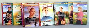 11 Love Inspired Amish  softcover books - some are larger print