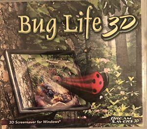 Bug Life 3D Screensaver Brand New Vista XP