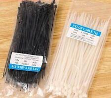 GIALLO 100-500 pezzi fascette per cavi colorati BLU nylon 2,5//3,6//4,8 mm VERDE ROSSO