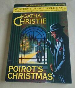 Agatha Christie Poirot's Christmas 750 pieces (sealed) Murder Mystery Jigsaw