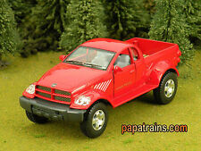 Die Cast Red Dodge Ram Power Wagon Pickup O Scale 1:42 By Kinsmart