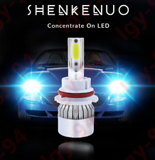 9007-C REE-LED-Headlight-Light-Bulb-Conversion-Kit-High-Low-Beam-8000K-Ice Blue