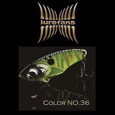 Lurefans Rattlesnake R40-36 Metal Vibration Sinking Fishing Lure 40mm 7.5g