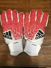 Adidas Predator Ultimate Goalie Glove 2019 Red Black White Size 10 Only
