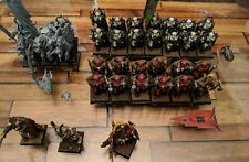 Warhammer Age Of Sigmar/ Warhammer Fantasy Warriors Of Chaos Army Painted OOP