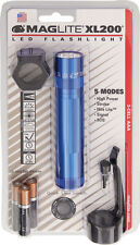 "Maglite 66381 XL-200 Blue LED Flashlight 4.875"" Overall Water Resistant"