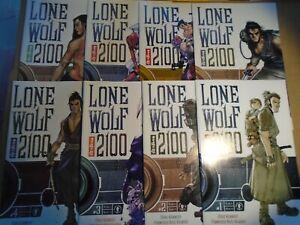 LONE WOLF AND CUB 2100 #1 2 3 4 5 6 7 8 Dark Horse Comics 2002 NM