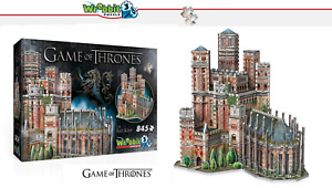 Wrebbit 3D Puzzle - Game of Thrones - The Red Bergfried - New/Boxed