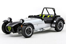 CATERHAM SUPER SEVEN JPE KYOSHO 1:18 08225C BLACK WITH CARBON