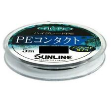 SUNLINE Contact PE 5m #0.15 Black Fishing Line