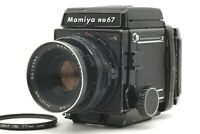 【EXC+++++】 Mamiya RB67 Pro S w/ Sekor 127mm F3.8 Lens + 120 Film Back From JAPAN