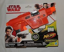 New Nerf Gun Glowstrike Star Wars Poe Dameron Blaster 3 Darts Glow in Dark Sound