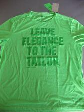 H&M Herren Sport Freizeit Shirt Funktion Gr. XL, 52/54, Kurzarm, Neongrün