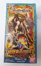 Bandai Carddass Battle Spirits Trading Card Game : Booster Pack BS15 Korea Ver.