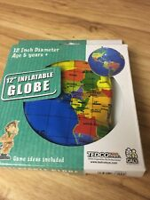 12 inch inflatable globe by Tedco