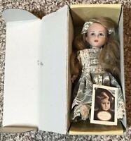 La Bamboli Di Arianna Bisque Porcelain Doll  Susanna Made in Italy 1997