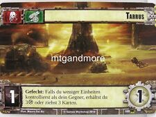 Warhammer 40000 Conquest LCG - Tarrus  #180 - Base Set dt.
