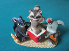 """Charming Tails By Fitz & Floyd """"A Collection Of Friends"""" Figurine Friendship"""
