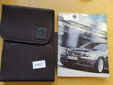 BMW 3 SERIES SALOON EN HANDBOOK MANUAL WALLET 2006-2010 PACK 16401