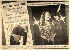 """RORY GALLAGHER Philby 1979  UK Press ADVERT 12x8"""""""