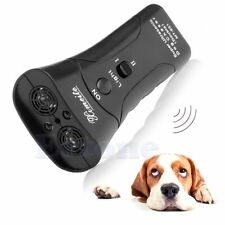 Ultrasonic Dog Chaser Stop Aggressive Animal Attacks Repeller Flashlight