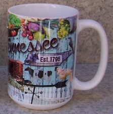 Coffee Mug Explore America Tennessee Montage NEW 15 ounce cup with gift box
