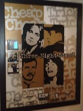 Cheap Trick - KISW Promo Poster Seattle 3 Night Stand 10/98 ( Pearl Jam ) KISS