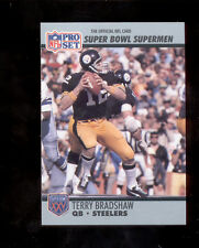 1990 Pro Set TERRY BRADSHAW Pittsburgh Steelers Super Bowl Commemorative Card