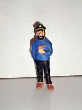 FIGURINE TINTIN HERGE & MILOU - CAPITAINE HADDOCK HERGE BULLY (8x3cm)