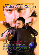 "NEW DVD! MULTILANGUAGES KRAV MAGA FEDERATION ""THE WILL TO SURVIVE"" !!!"