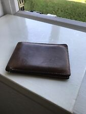 VINTAGE RARE Breitling Leather Wallet