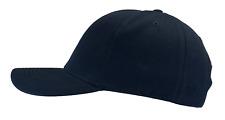 Hawkins Military Blank Hat Dark Blue Ball Cap Medium Profile