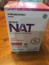 Pruvit Keto Os NAT Tru Passion Caffeine Free 10 Packets
