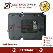 ABS Pump ECU 1K0907379AD / 1K0614517BD - EXCHANGE SERVICE - Warranty