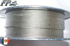Cable 4mm inox 316 Souple 7x19 VENDU AU METRE inox 316 - A4
