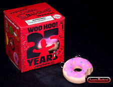 Sprinkle Donut Simpsons 25th Anniversary - Kidrobot  - Add'l Keychain Ship Free