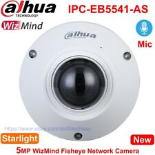 Dahua AI Fisheye IPC-EB5541-AS 5MP Panoramic Camera Mic PoE, replace IPC-EB5531