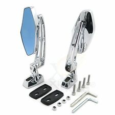 Adjustable Chrome Rearview Mirror For 97-09 Suzuki GSX-R600 750