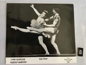 "Lynn Seymour, Rudolf Nureyev, ""Side Show"" Ballet Photo"