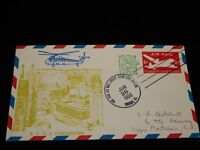 Vintage Cover, CHICAGO, ILLINOIS, IL, 1959,Air Mail Society Convention,Pre-Stamp