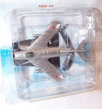 mikoyan MIG 17 silver aircraft 1.144ish scale 9cm diecast de agostini collection