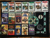 Star Trek 16x Bundle Fotonovels Bios Star Wars Vintage Paperbacks space sci-fi
